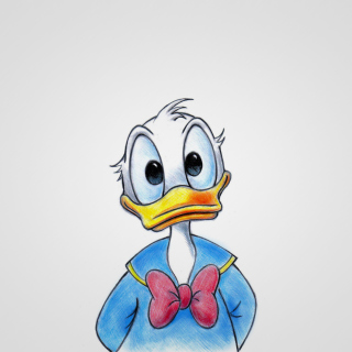 Cute Donald Duck - Obrázkek zdarma pro iPad mini