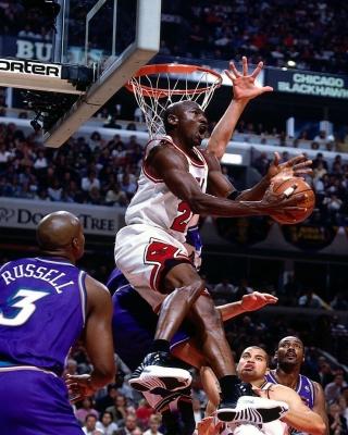 Michael Jordan Goal - Obrázkek zdarma pro Nokia X1-00