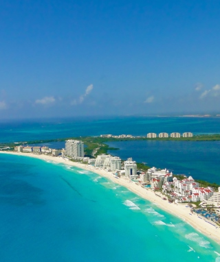 Blue Cancun - Obrázkek zdarma pro Nokia C3-01 Gold Edition