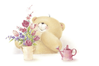 Free Forever Friends Teddy Bear Picture for Android, iPhone and iPad
