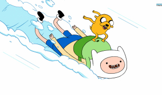 Free Finn And Jake Adventure Time Picture for Android, iPhone and iPad