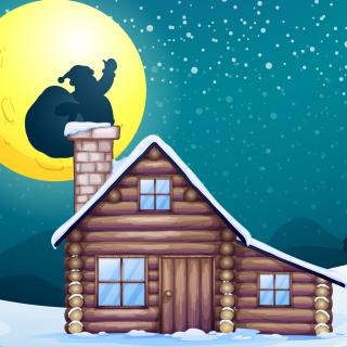 It's Santa's Night - Obrázkek zdarma pro iPad mini 2