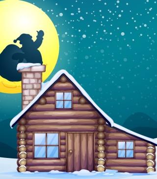 It's Santa's Night - Obrázkek zdarma pro Nokia Asha 310