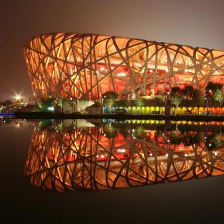 Beijing National Stadium - Obrázkek zdarma pro 2048x2048