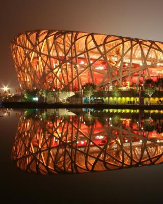 Beijing National Stadium - Obrázkek zdarma pro Nokia 300 Asha