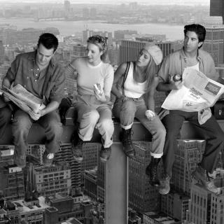 Friends television show sitcom - Obrázkek zdarma pro iPad 3