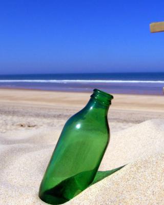 Bottle Beach - Obrázkek zdarma pro Nokia Lumia 928