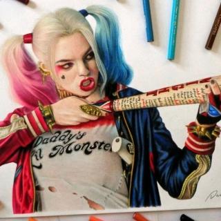 Margot Robbie in Suicide Squad - Obrázkek zdarma pro iPad