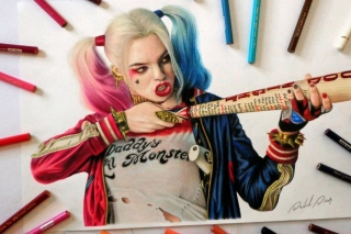 Margot Robbie in Suicide Squad Picture for Android, iPhone and iPad