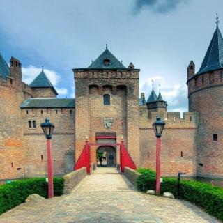 Muiderslot Castle in Netherlands - Obrázkek zdarma pro iPad 3