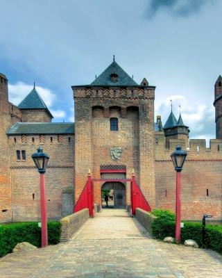 Muiderslot Castle in Netherlands - Obrázkek zdarma pro 640x960