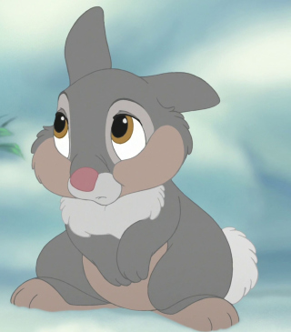 Comical Rabbit Thumper - Obrázkek zdarma pro 640x960