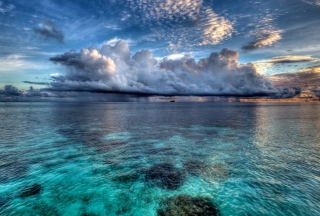 Amazing Caribbean Sea Picture for Android, iPhone and iPad
