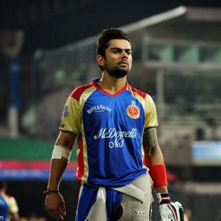 Virat Kohli in India Cricket HD - Obrázkek zdarma pro iPad