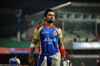 Virat Kohli in India Cricket HD - Obrázkek zdarma pro Widescreen Desktop PC 1680x1050