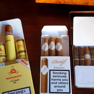 Cuban Montecristo Cigars - Obrázkek zdarma pro 128x128
