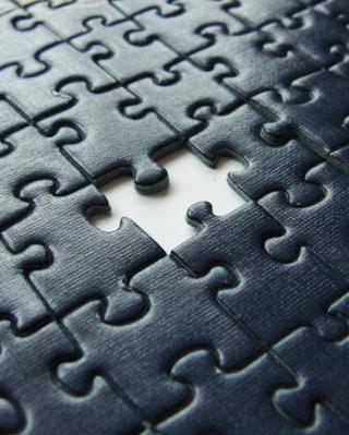 Missing Puzzle - Obrázkek zdarma pro Nokia Asha 306