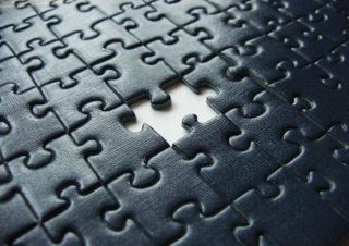 Missing Puzzle - Obrázkek zdarma pro Nokia Asha 302