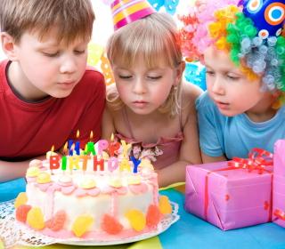 Kids Birthday - Obrázkek zdarma pro iPad