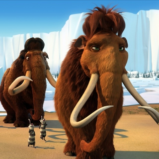 Ice Age 2 The Meltdown - Obrázkek zdarma pro 2048x2048