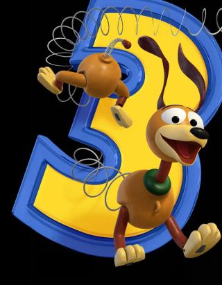 Dog From Toy Story 3 - Obrázkek zdarma pro 768x1280