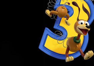 Dog From Toy Story 3 - Obrázkek zdarma pro 1366x768