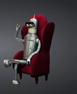 3D Bender Futurama - Obrázkek zdarma pro Nokia Asha 300