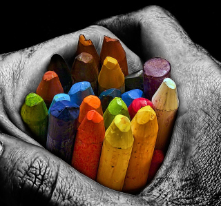 Cool Mac - I Love Colours - Obrázkek zdarma pro iPad mini 2