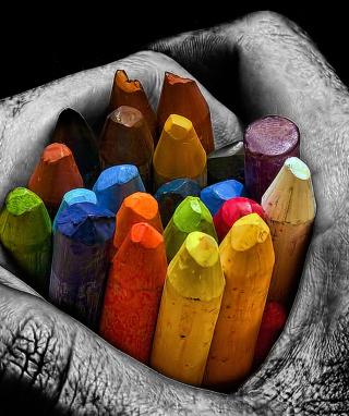 Cool Mac - I Love Colours - Obrázkek zdarma pro 320x480