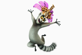 Обои Lemur King From Madagascar для телефона