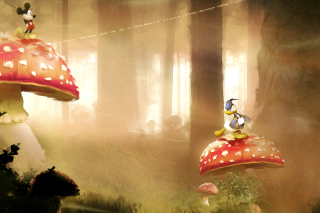 Mickey Mouse and Donald Duck - Obrázkek zdarma pro Widescreen Desktop PC 1920x1080 Full HD