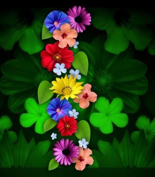 Flowers - Obrázkek zdarma pro Nokia Asha 305
