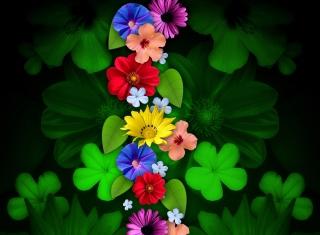 Flowers - Obrázkek zdarma pro 1366x768