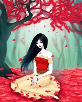 Vampire Queen - Obrázkek zdarma pro iPhone 5