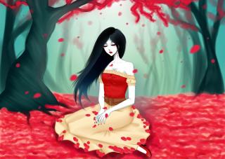 Vampire Queen - Obrázkek zdarma pro HTC EVO 4G