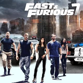 Fast Furious 7 - Obrázkek zdarma pro iPad Air