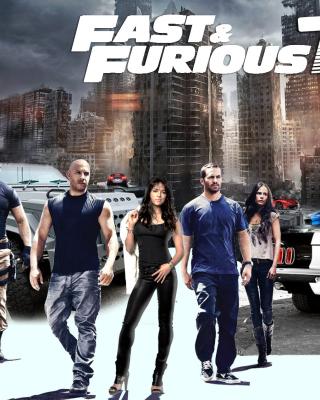 Fast Furious 7 - Obrázkek zdarma pro Nokia Asha 202