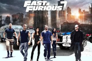 Fast Furious 7 - Obrázkek zdarma pro Nokia X5-01