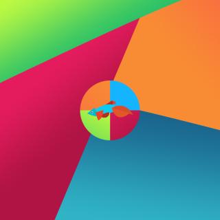 Windows 8 Desktop Pattern - Obrázkek zdarma pro iPad