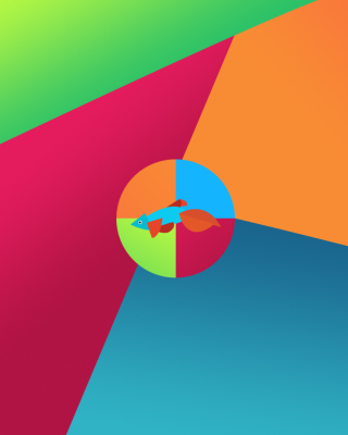 Windows 8 Desktop Pattern - Obrázkek zdarma pro Nokia Asha 311
