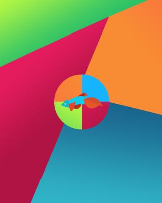 Windows 8 Desktop Pattern - Obrázkek zdarma pro Nokia 5800 XpressMusic