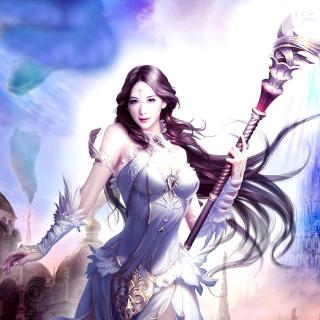 Angelina, League of Angels - Obrázkek zdarma pro iPad