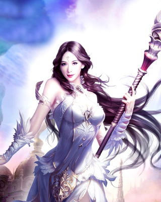 Angelina, League of Angels - Fondos de pantalla gratis para Huawei G7300