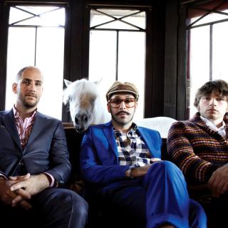 OK Go American alternative Rock Band - Obrázkek zdarma pro iPad