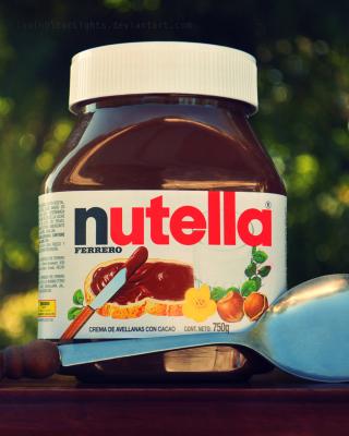 Nutella - Obrázkek zdarma pro Nokia X6