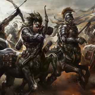 Centaur Warriors from Mythology - Obrázkek zdarma pro iPad 3
