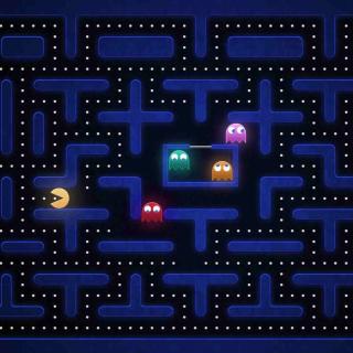 Pacman Best 90 Game - Obrázkek zdarma pro 320x320
