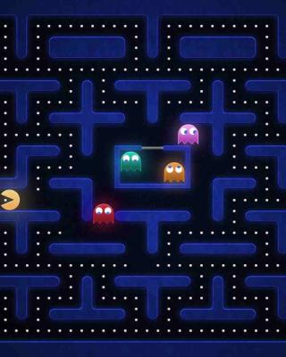 Pacman Best 90 Game - Obrázkek zdarma pro Nokia C3-01