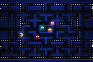 Pacman Best 90 Game Background for Android, iPhone and iPad