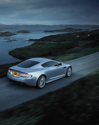 Aston Martin Dbs Evening Ride - Obrázkek zdarma pro Nokia X7